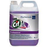 Dezinfectant lichid 2in1 Cif Professional, 5L